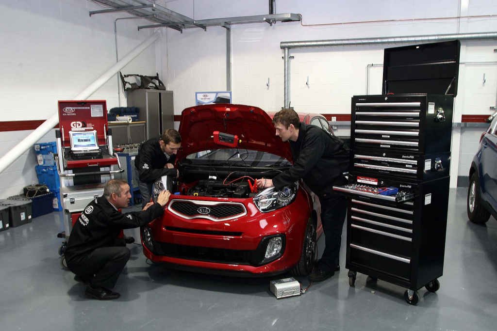 Kia Picanto car servicing