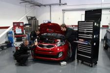 Kia car servicing