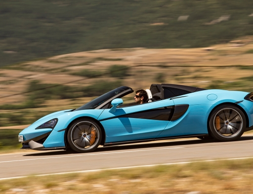 Spider bite: new McLaren 570S drop-top driven