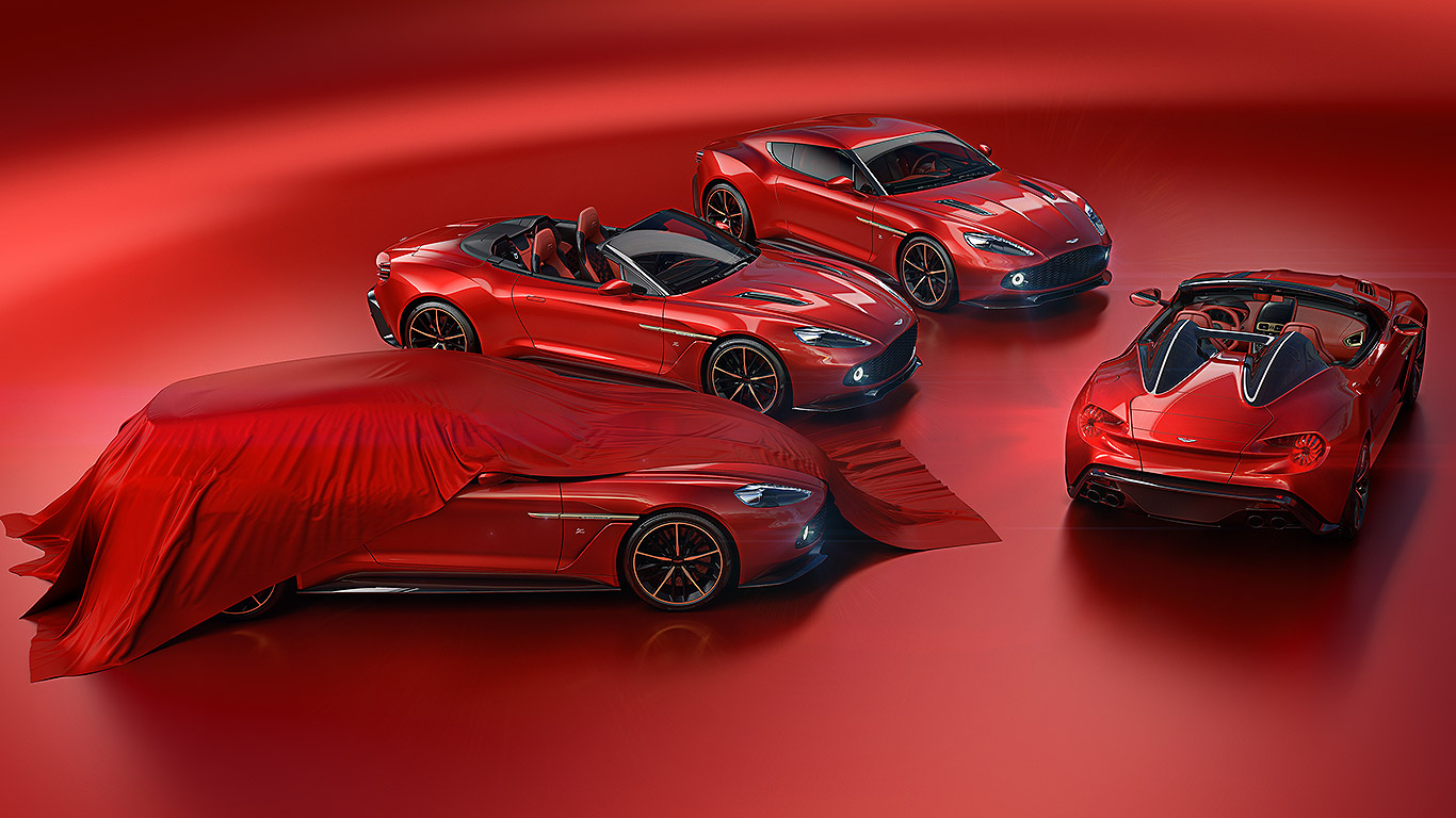 Aston Martin Zagato family