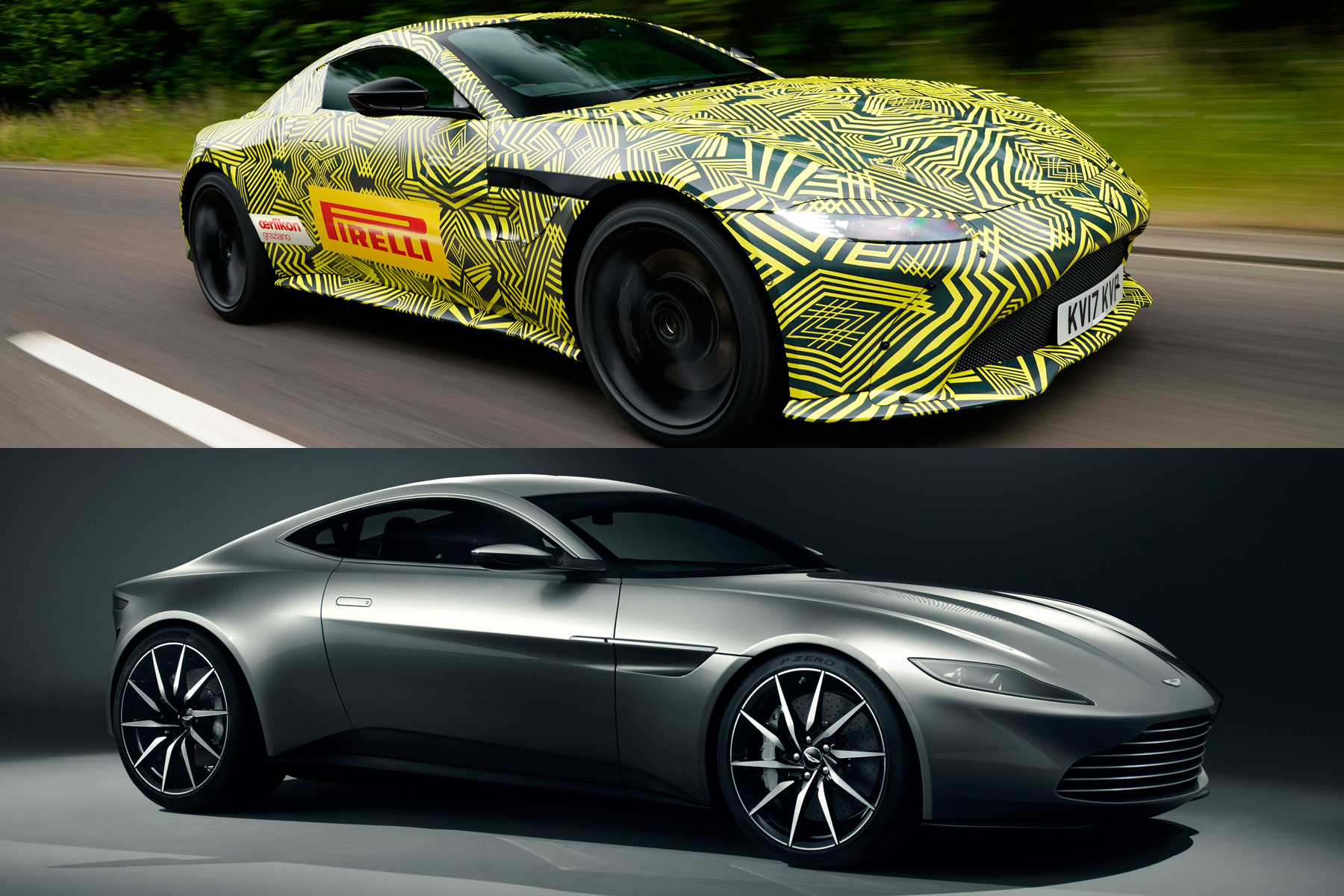 2018 aston martin vantage the james bond car coming soon motoring research. Black Bedroom Furniture Sets. Home Design Ideas