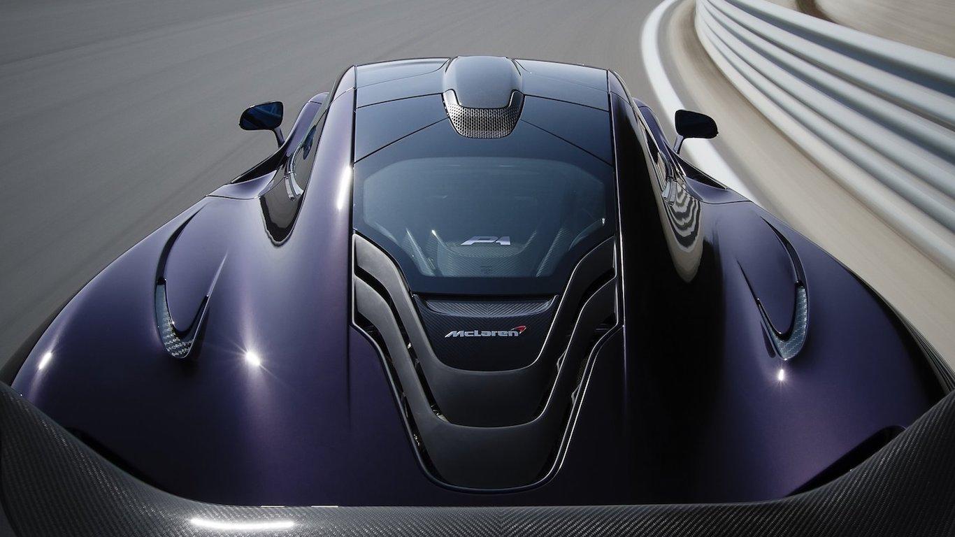 14. McLaren Automotive - @mclarenauto - 2.8m