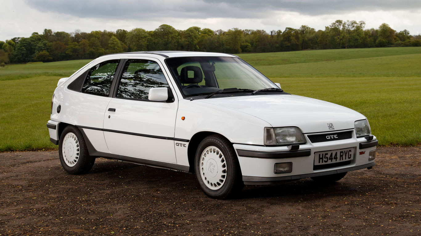 Ford vs. Vauxhall: retro hot hatch showdown