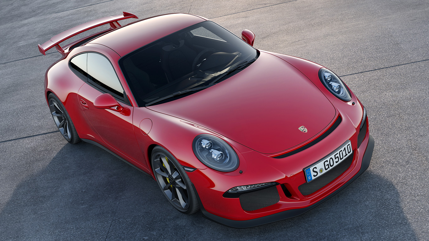 Porsche 911 991 GT3: 3.6 seconds