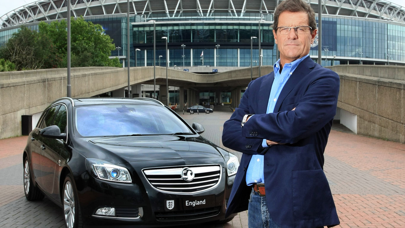 Vauxhall and Fabio Capello