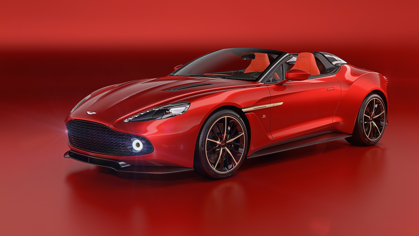 9. Aston Martin - @astonmartinlagonda - 4.2m