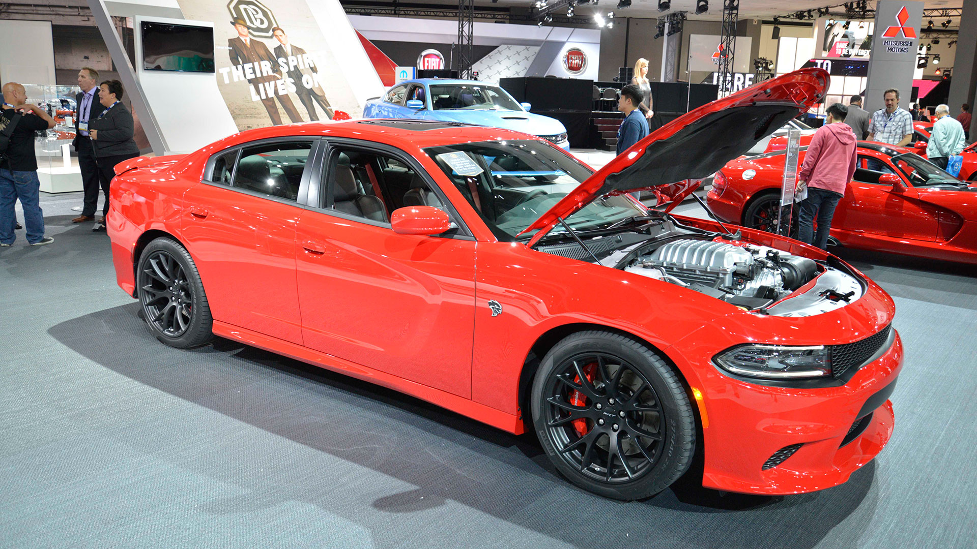 Dodge Challenger SRT Hellcat: 3.7 seconds