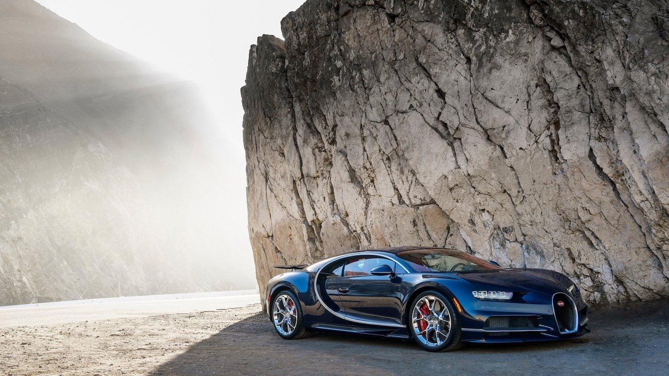8. Bugatti - @bugatti - 4.7m