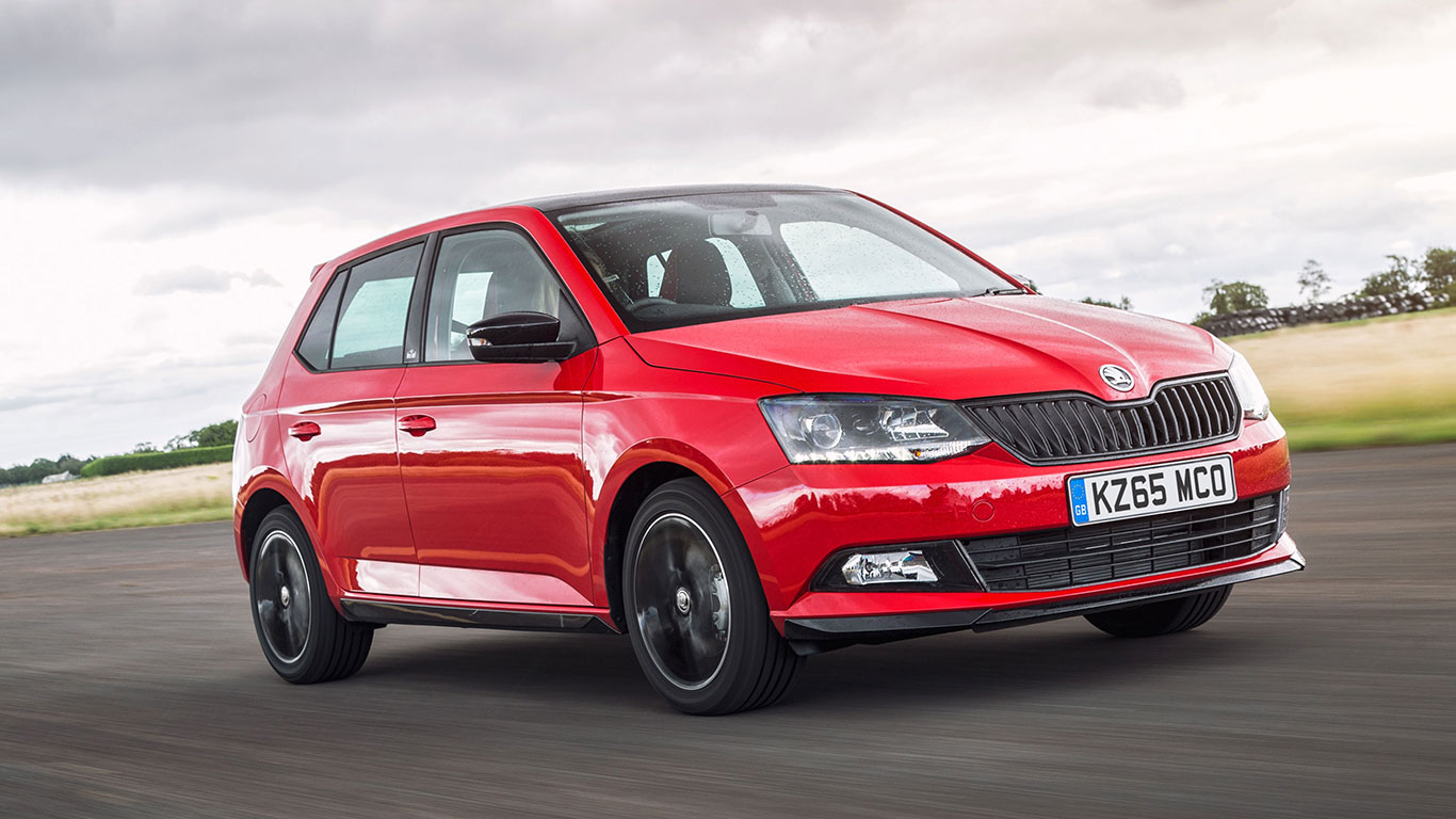 Small car, winner: Skoda Fabia
