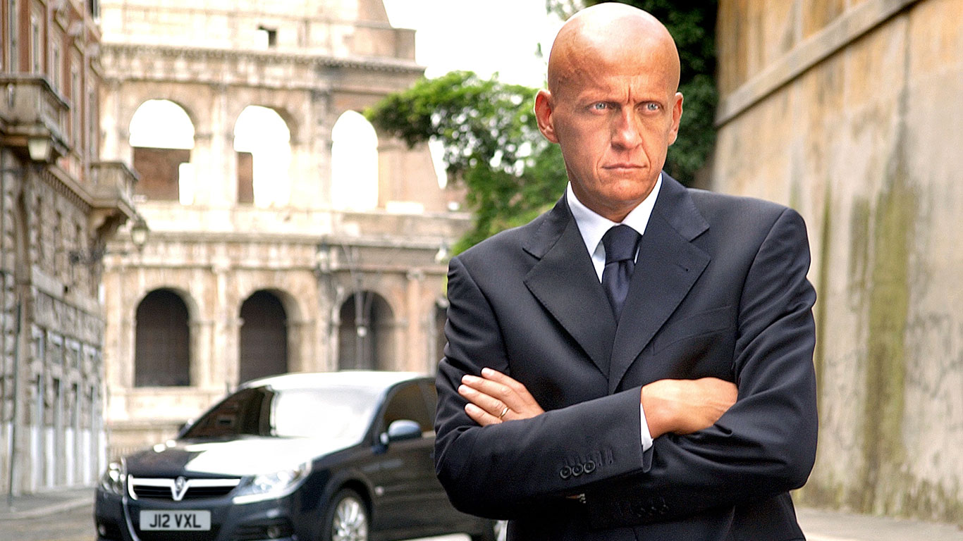 Vauxhall and Pierluigi Collina