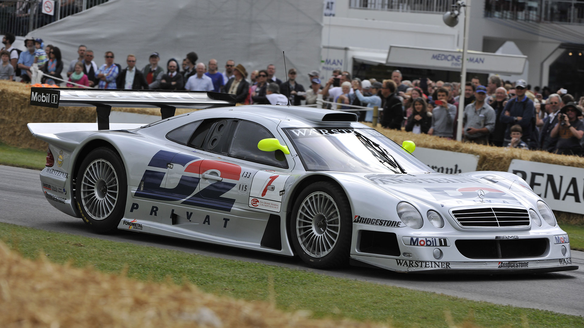 Mercedes-Benz CLK GTR: 3.8 seconds
