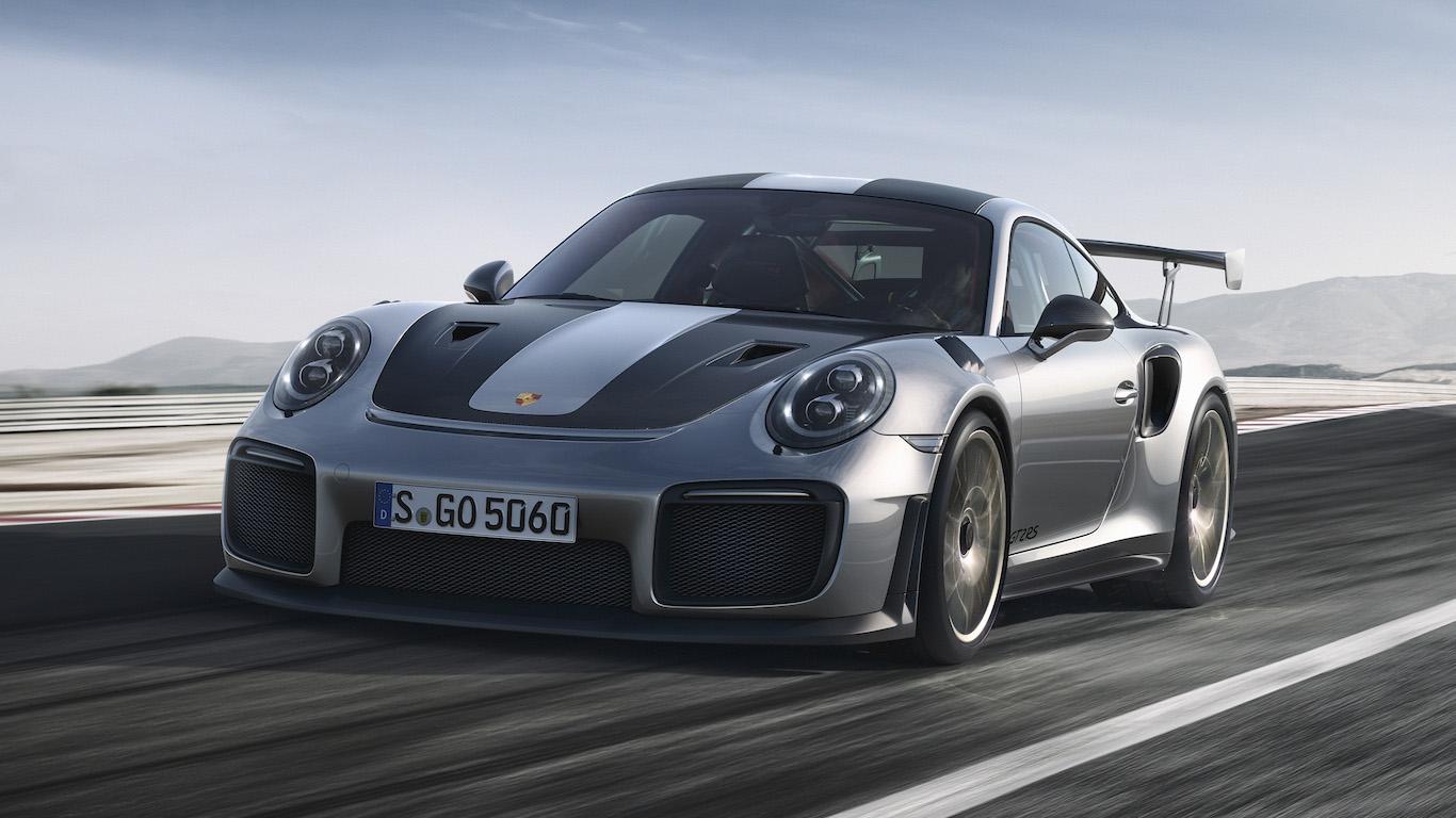5. Porsche - @porsche - 8.1m