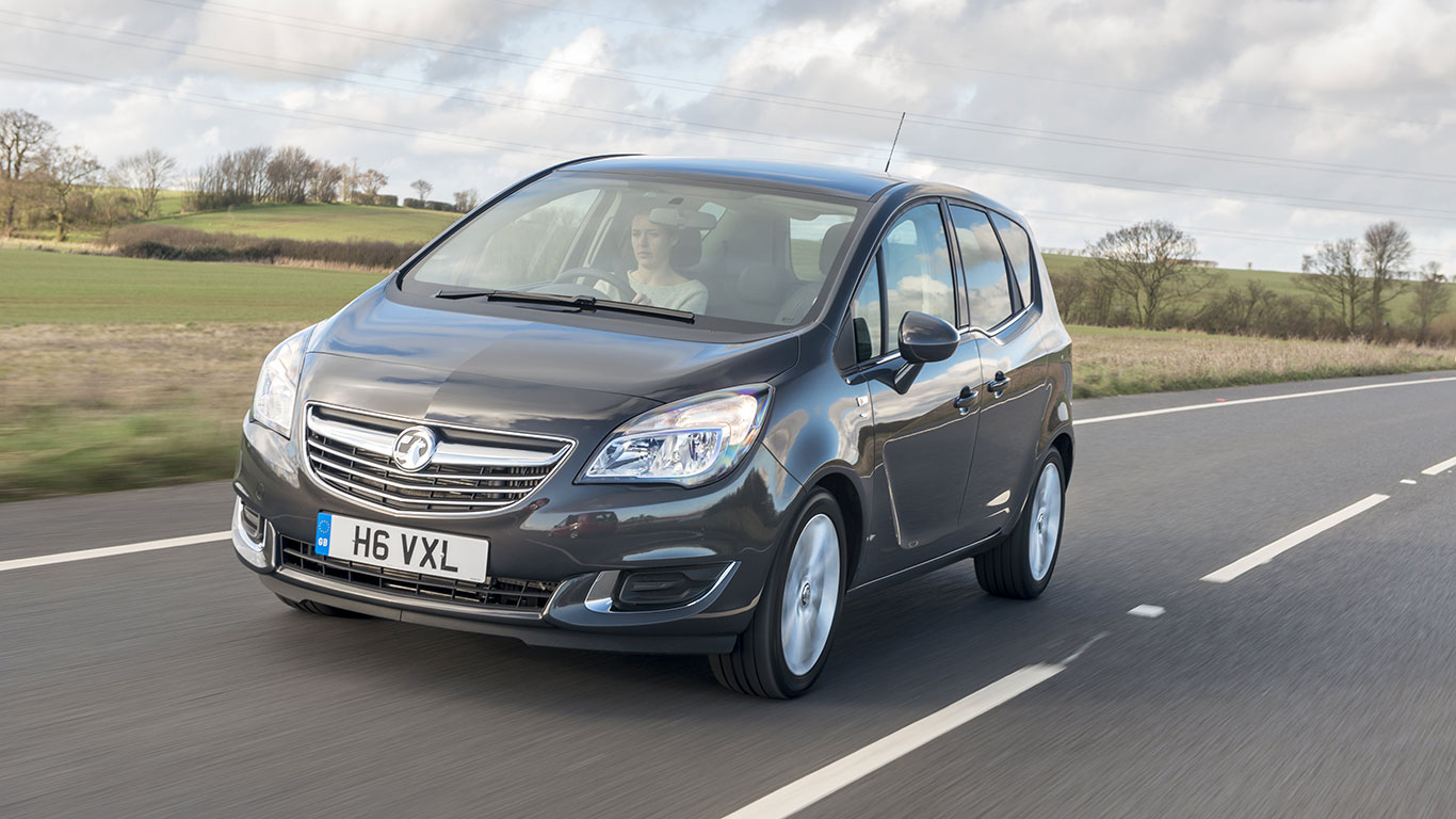 Small MPV, winner: Vauxhall Meriva