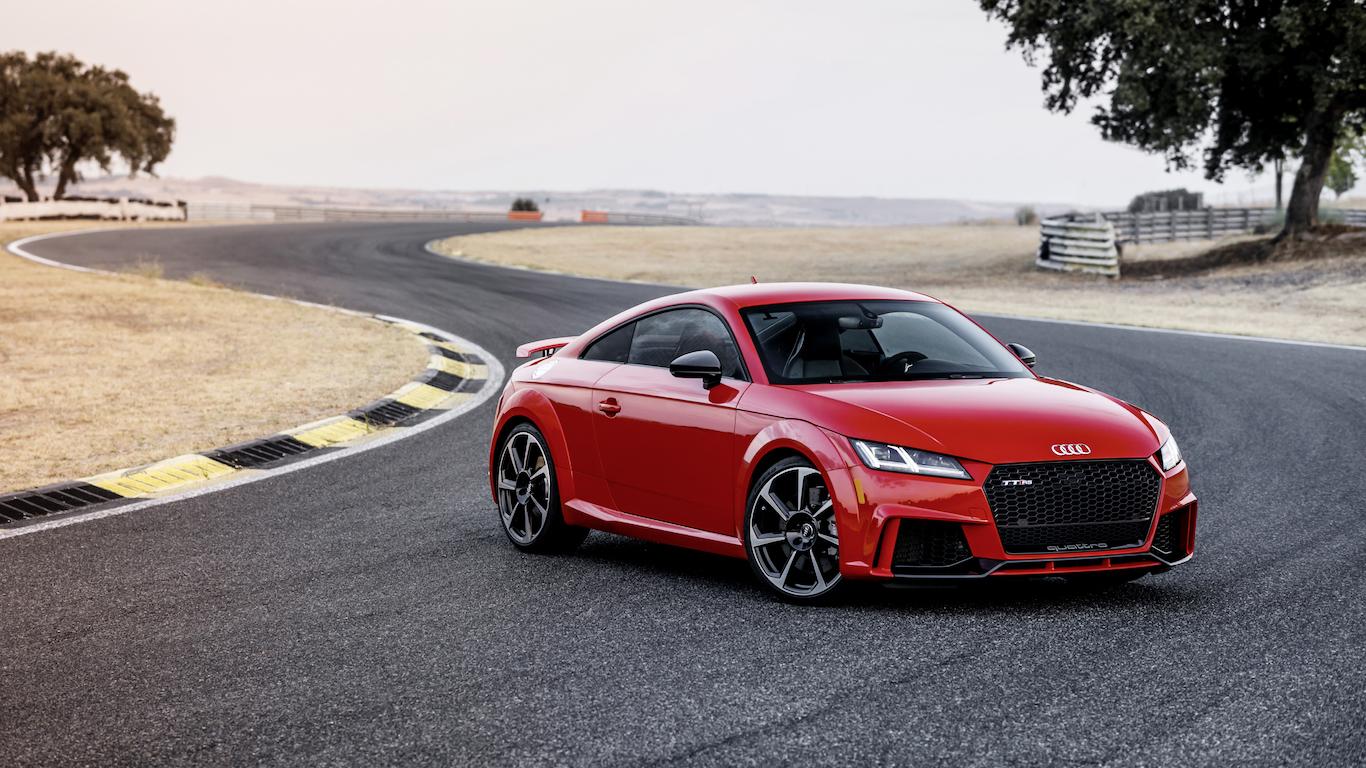 4. Audi - @audi - 8.8m