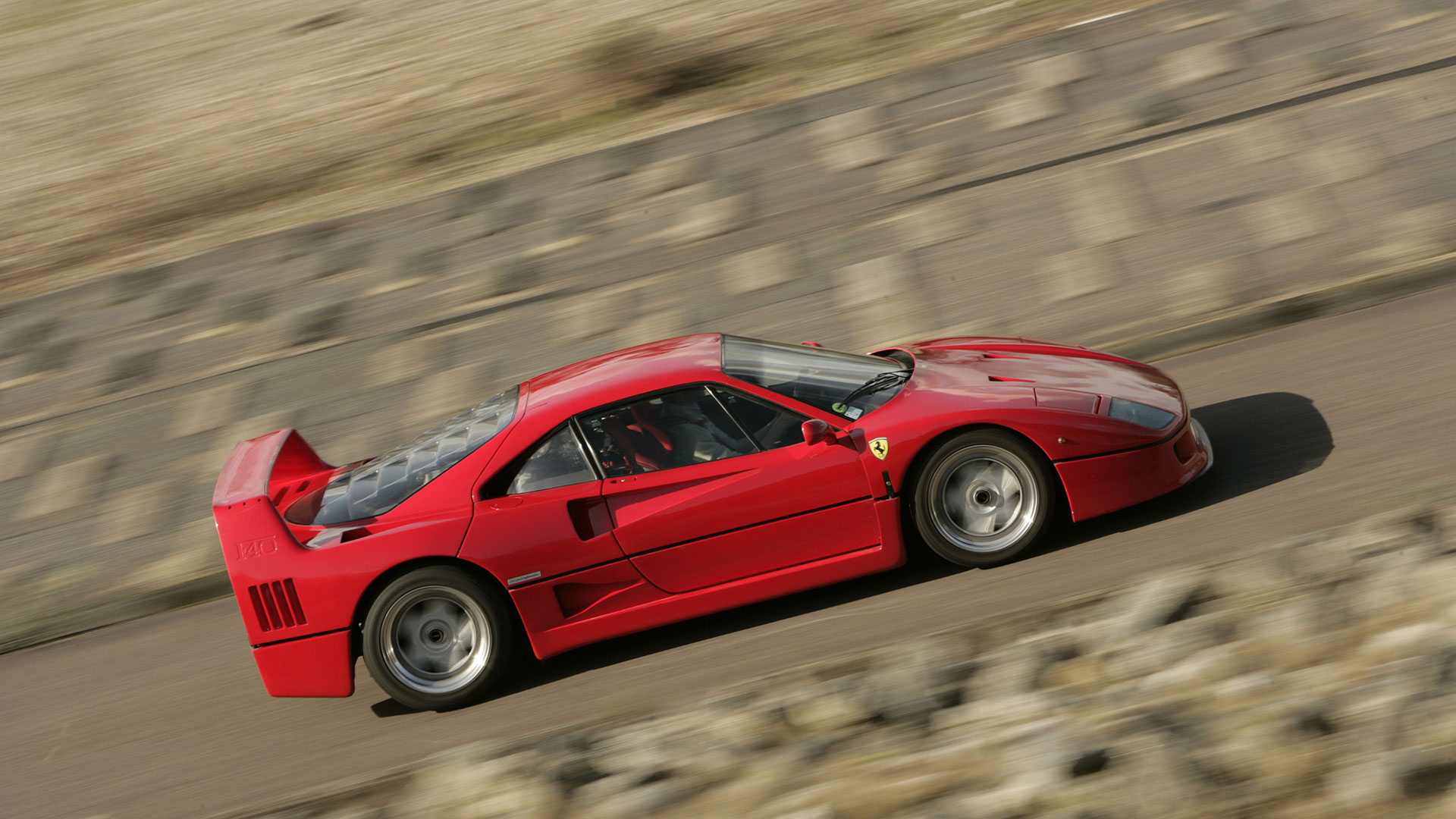 Ferrari F40: 3.9 seconds