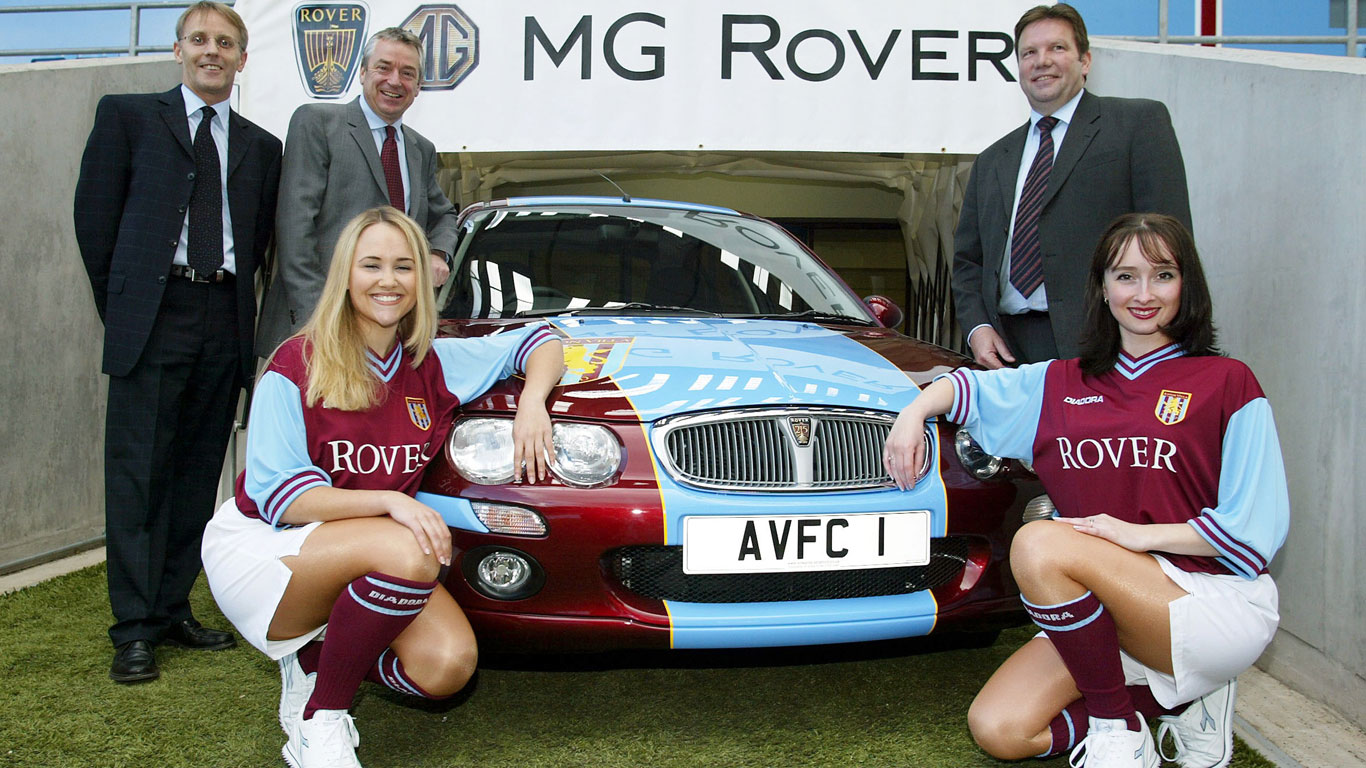 MG Rover and Aston Villa