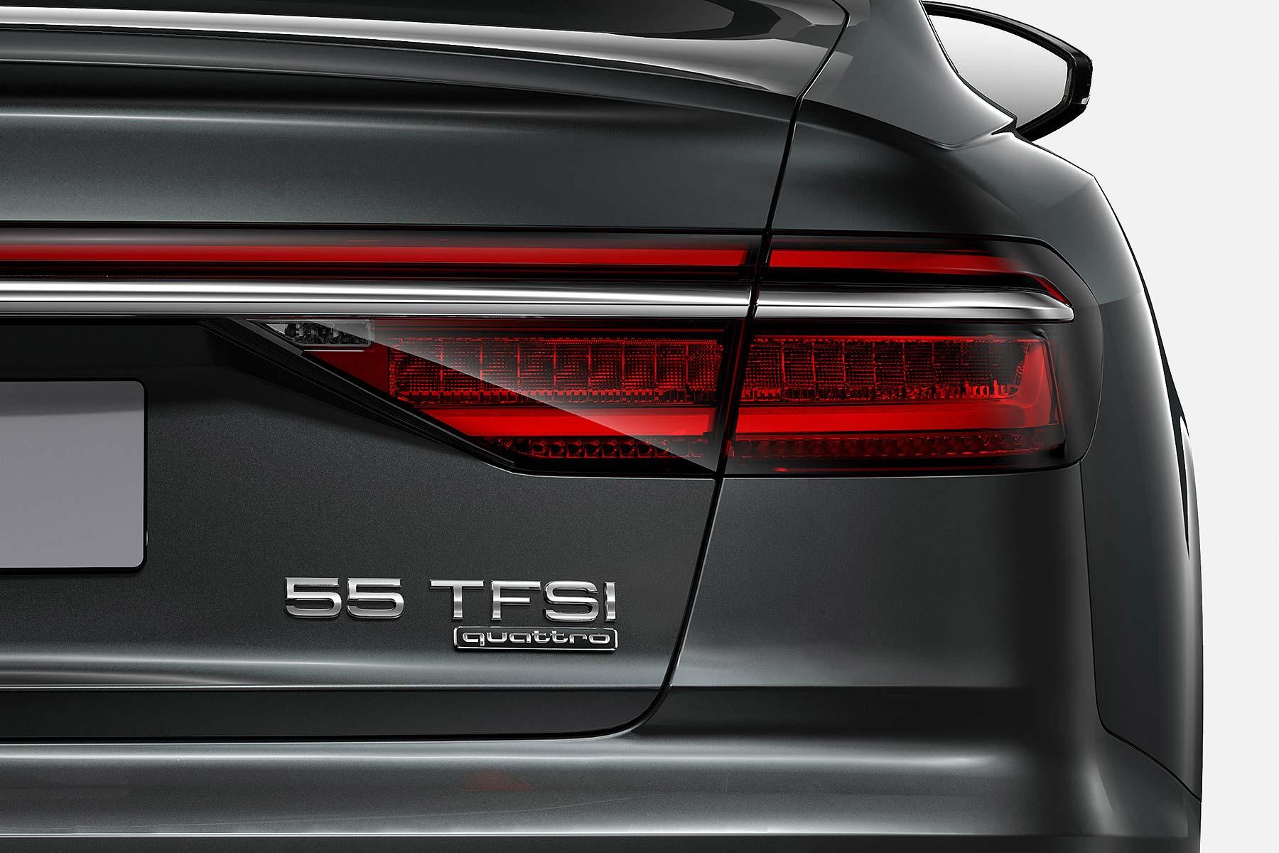Audi power badge