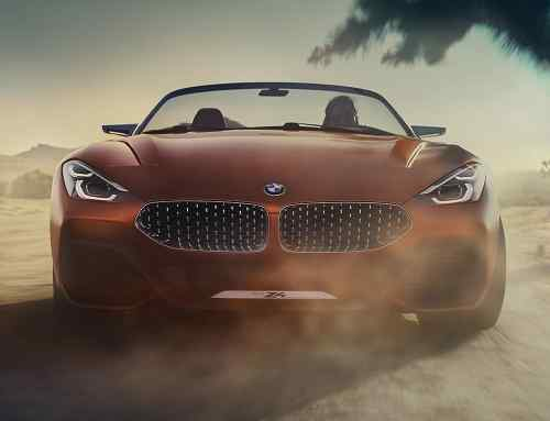 BMW Concept Z4 revealed: meet the new 2018 Z4?