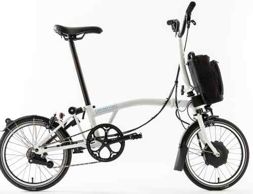 Brompton Electric folding bike uses Williams racing tech