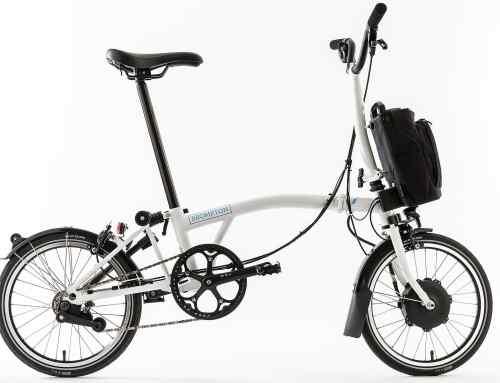 Brompton Electric folding bike uses Williams racing tech