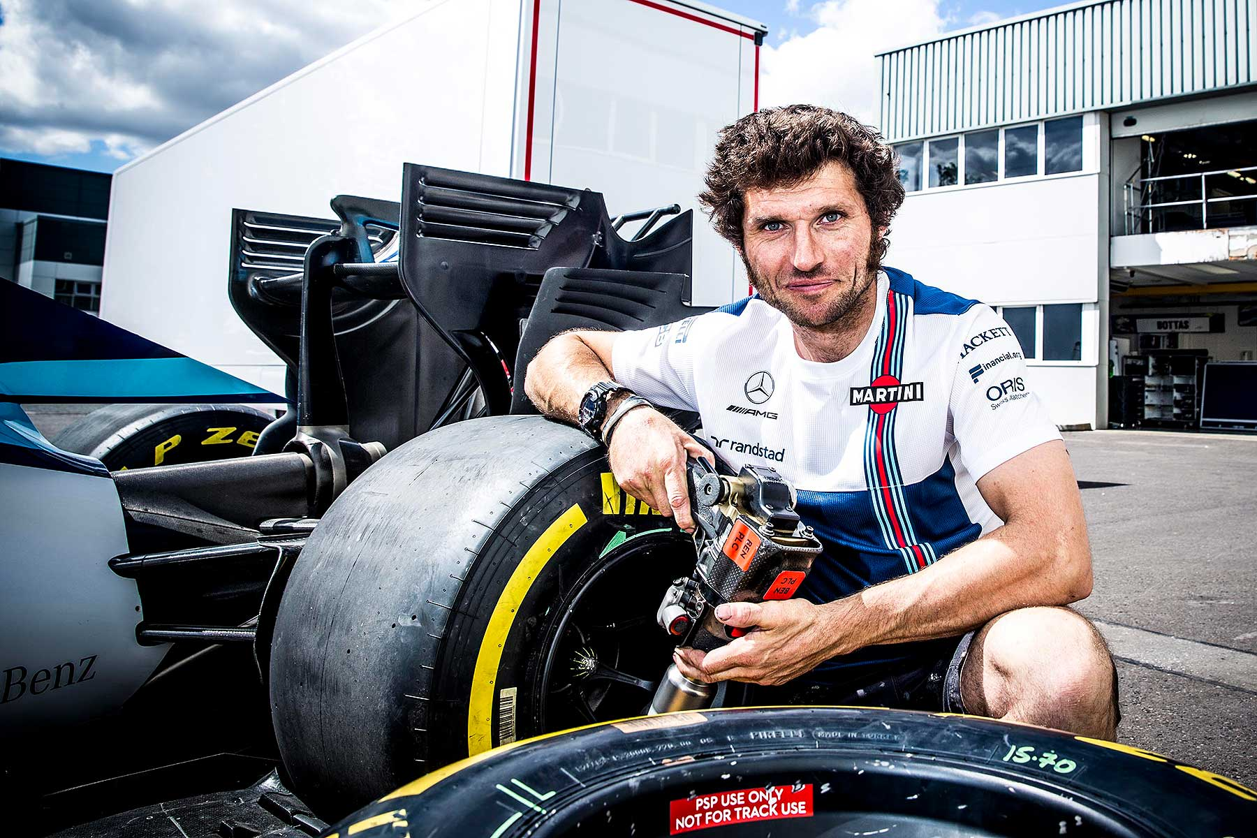 Guy Martin Williams F1
