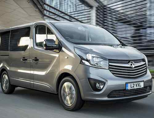Vauxhall has made a van for businesspeople