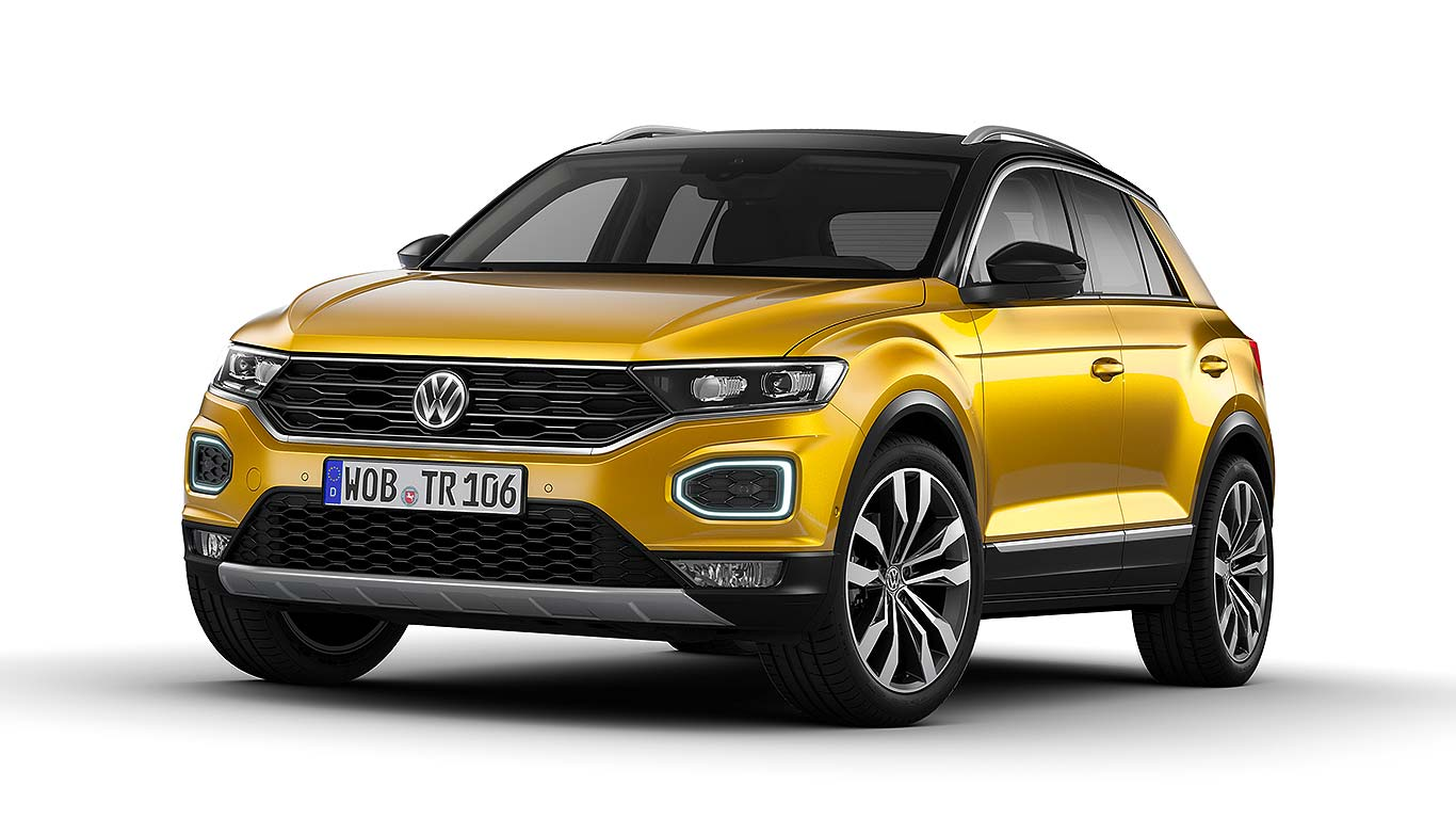 volkswagen t roc revealed vw 39 s qashqai crossover arrives. Black Bedroom Furniture Sets. Home Design Ideas