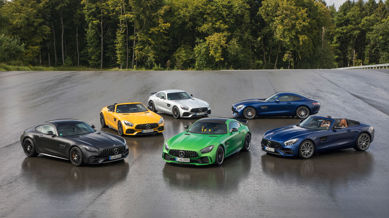 Amazing Track Test: Which Is The Best Mercedes Sports Car?