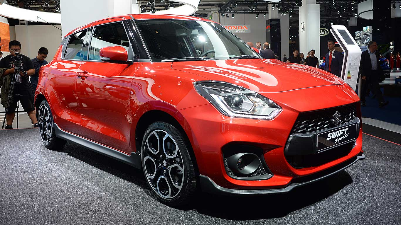 Suzuki Swift Sport resists mega power