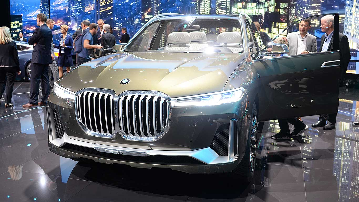 Is the BMW X7 the ghastliest car of Frankfurt?