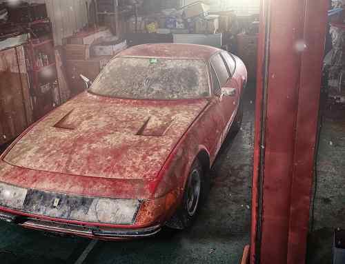 Ferrari worth millions hidden for 40 years