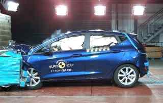 2017 Ford Fiesta Euro NCAP