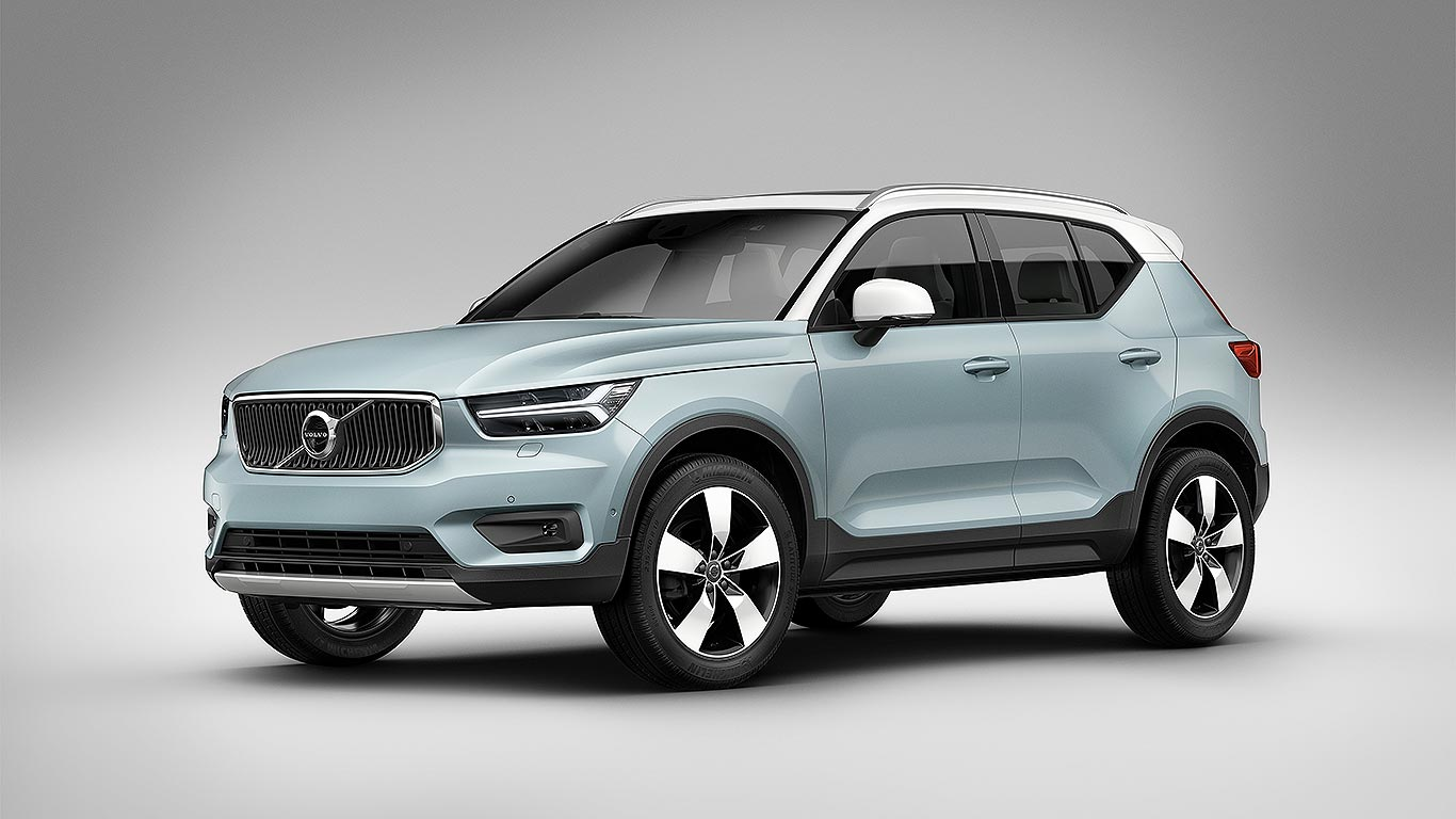 new volvo xc40 compact suv revealed prices from 27 905 motoring research. Black Bedroom Furniture Sets. Home Design Ideas
