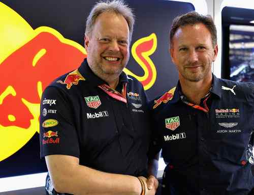 Aston Martin is Red Bull Racing F1 title sponsor for 2018
