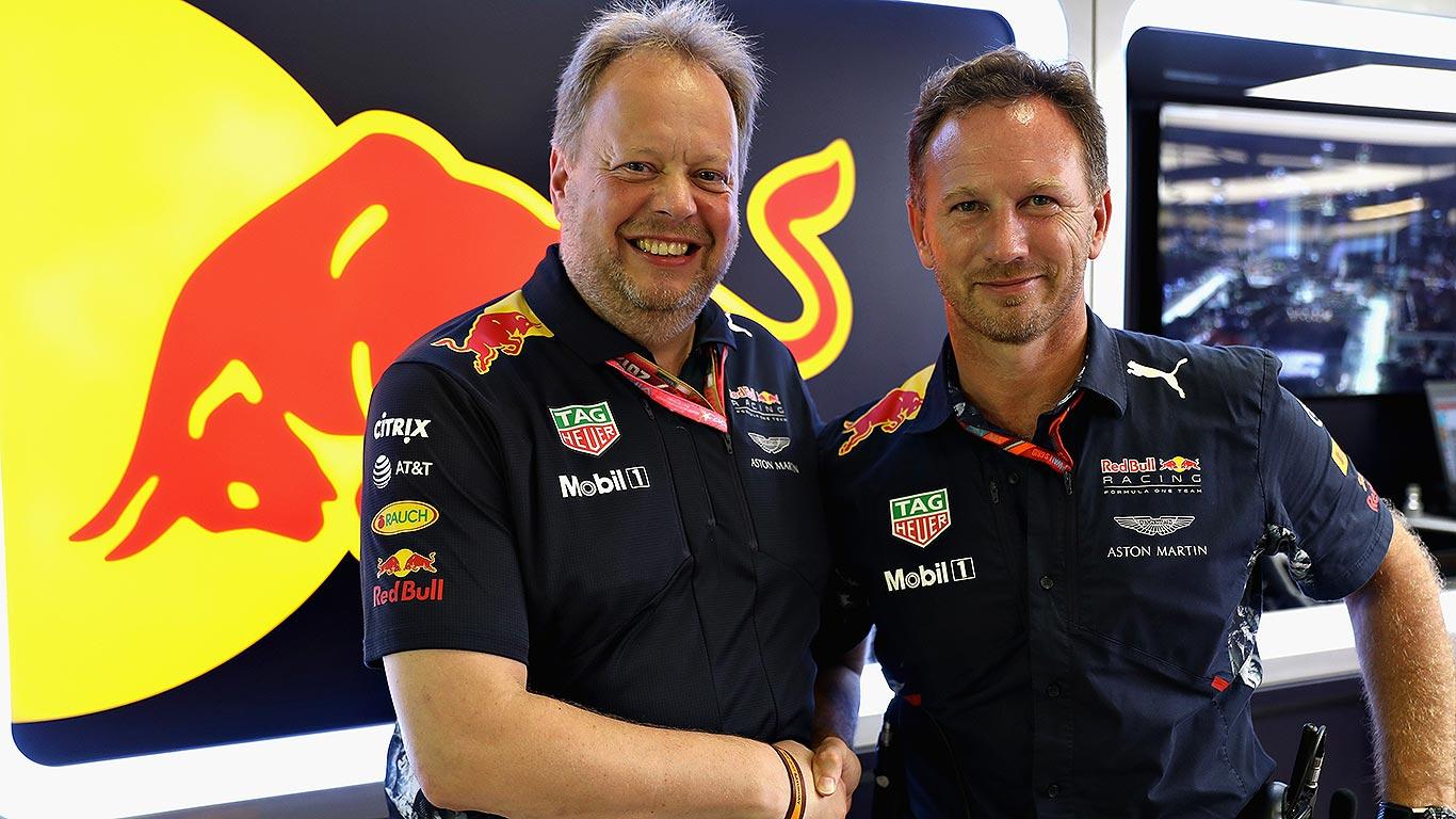 Aston Martin Red Bull Racing 2018