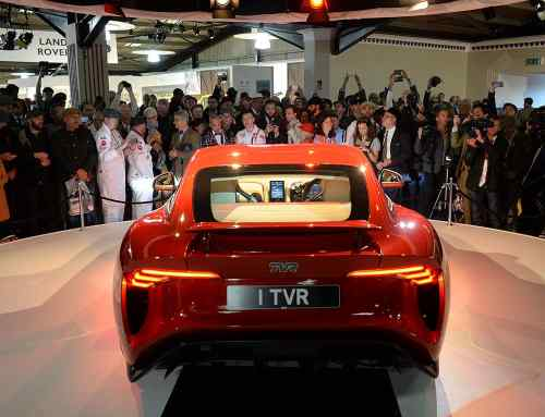 Watch the new TVR Griffith revealed at Goodwood