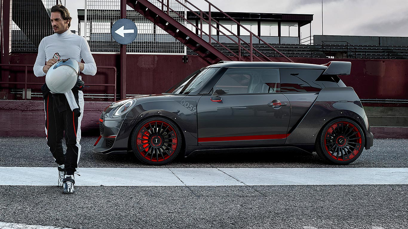 mini john cooper works gp concept previews 2019 car motoring research. Black Bedroom Furniture Sets. Home Design Ideas