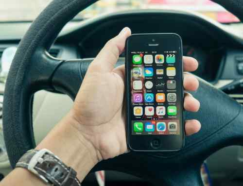 how to bring iphone x from driving mode