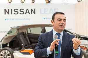 Nissan chairman Carlos Ghosn