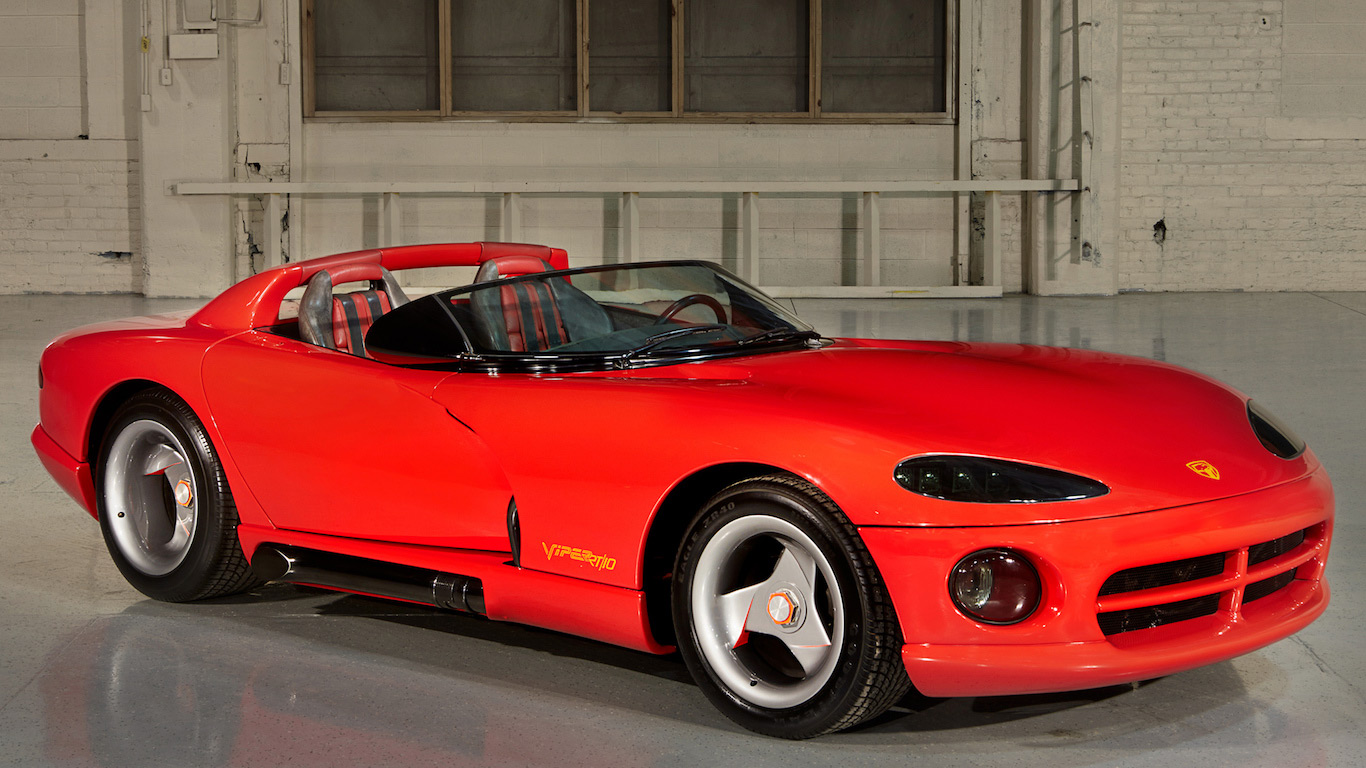 In Pictures Snakes Alive The Story Of The Dodge Viper