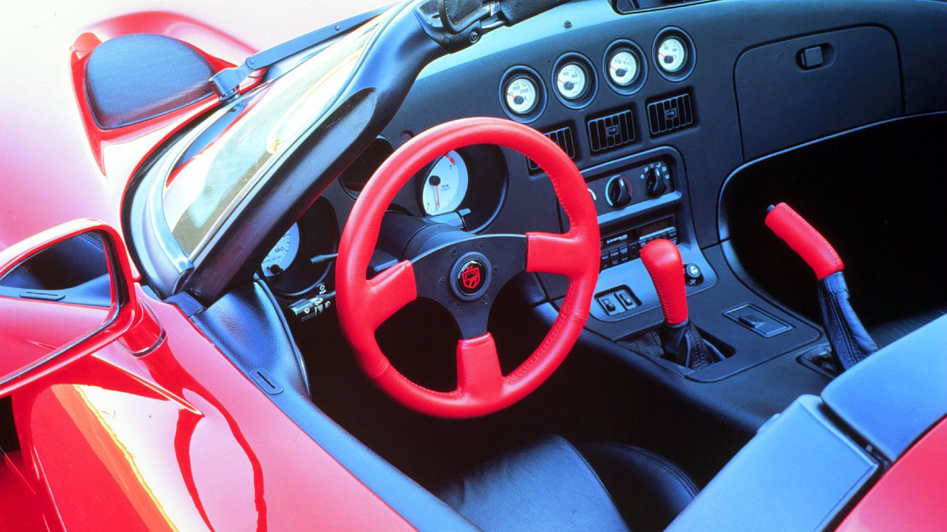 1992 Dodge Viper RT/10 Interior