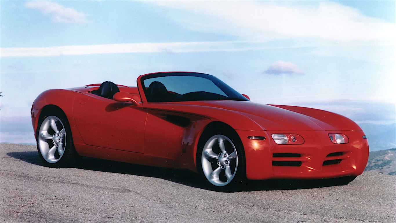 1997 Dodge 'Copperhead' Concept