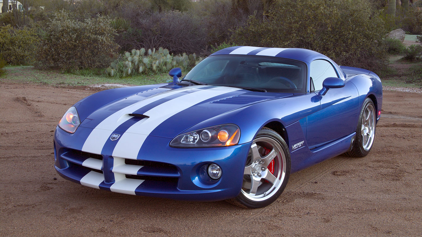 2005 Dodge Viper SRT-10 Coupe