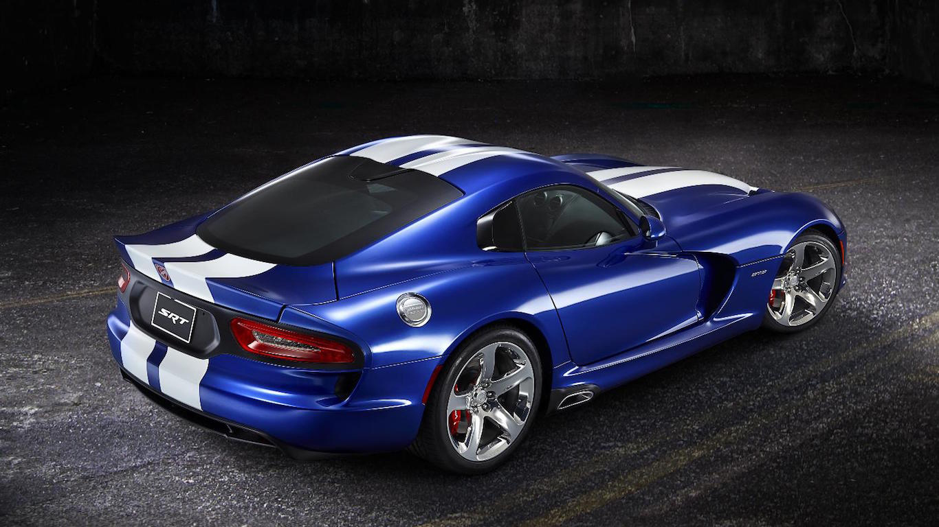 2012 SRT Viper GTS