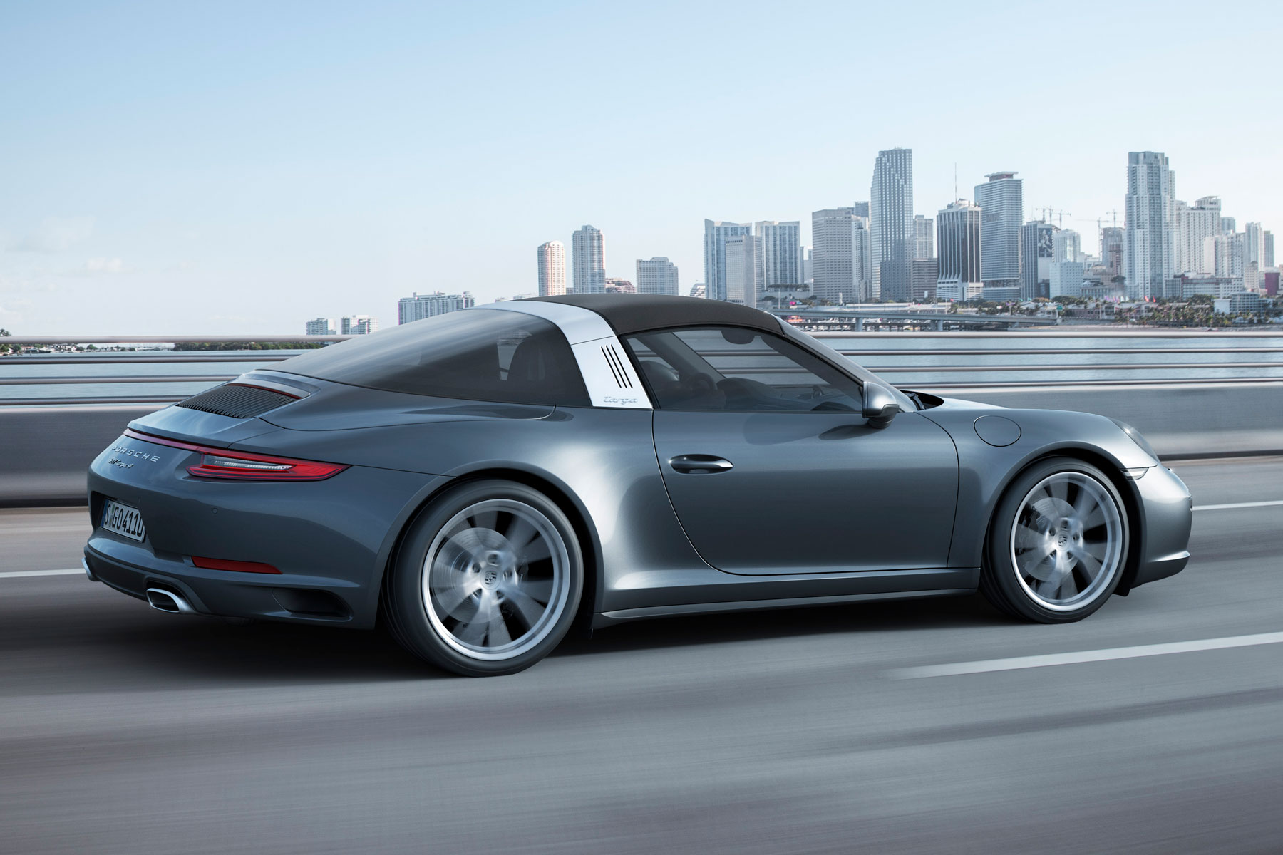 A Targa Top Is Semi Convertible Body Style With Removable Roof Section And Full Width Roll Bar Behind The Seats Name Was First Used By Porsche
