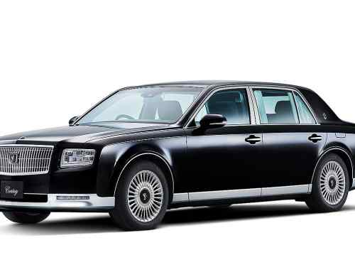 The 2018 Toyota Century is a 5.0-litre V8 hybrid we won't get in the UK