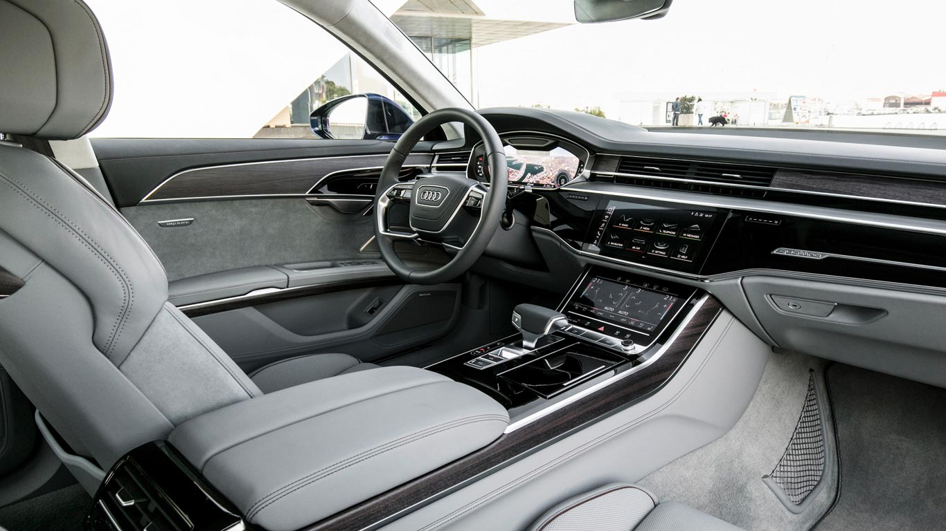 Audi A First Drive Unashamed Luxury Motoring Research - Audi a8 2018