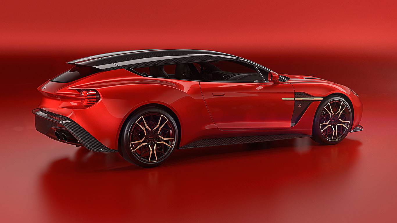 30-second news: More Aston Martin Vanquish Zagato Shooting ...