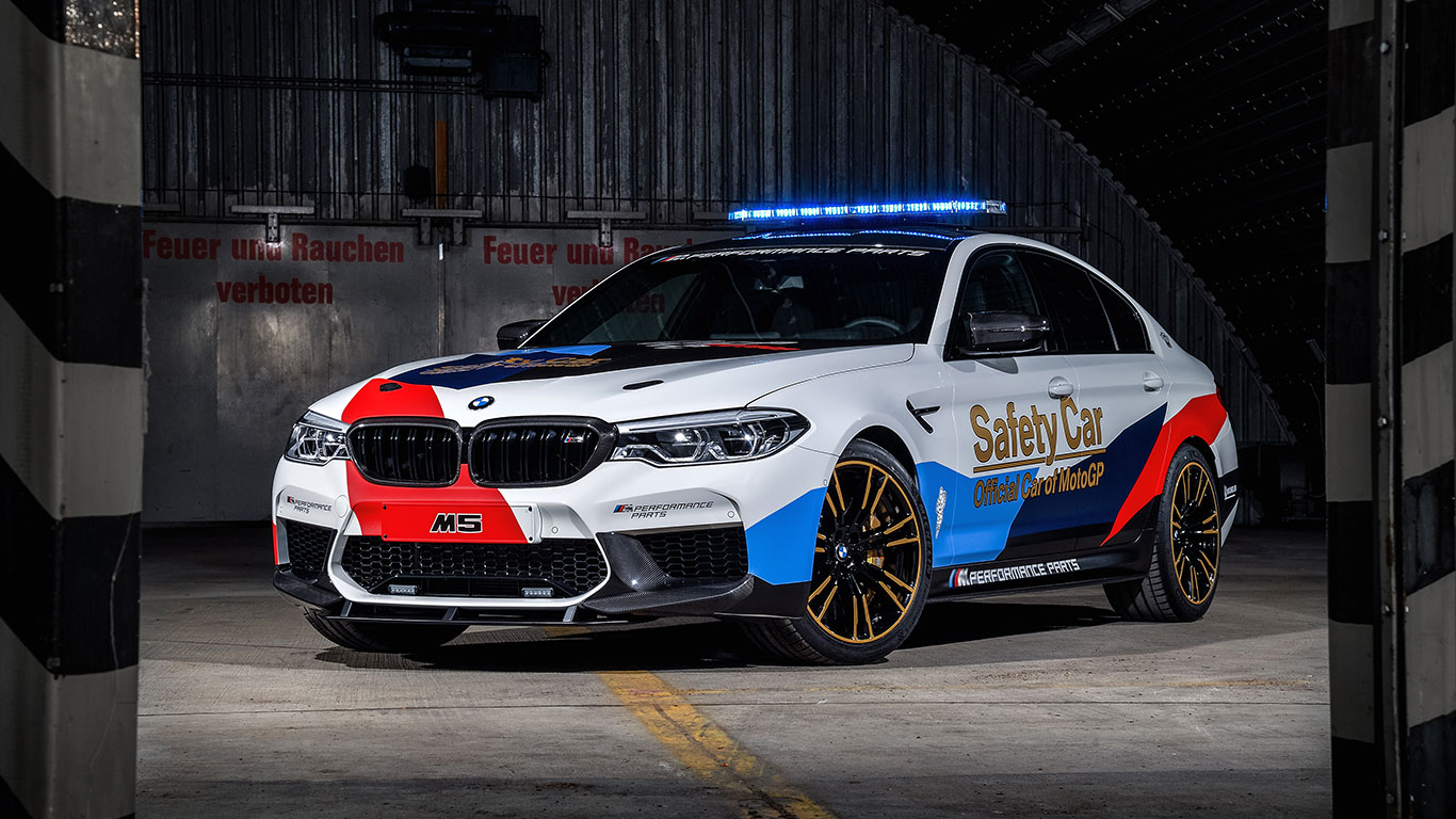 bmw reveals 2018 m5 motogp safety car motoring research. Black Bedroom Furniture Sets. Home Design Ideas