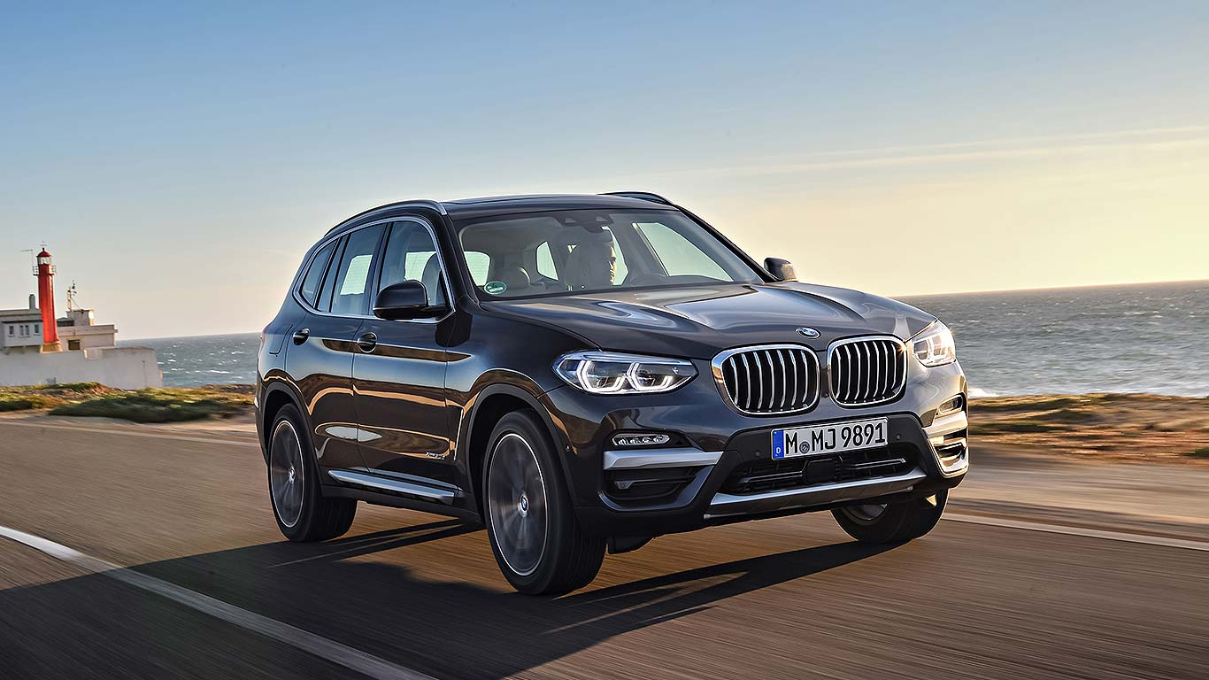 new bmw x3 2017 first drive third time lucky motoring. Black Bedroom Furniture Sets. Home Design Ideas